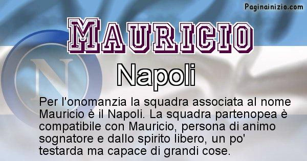 Mauricio - Squadra associata al nome Mauricio