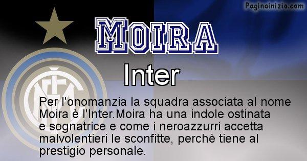 Moira - Squadra associata al nome Moira