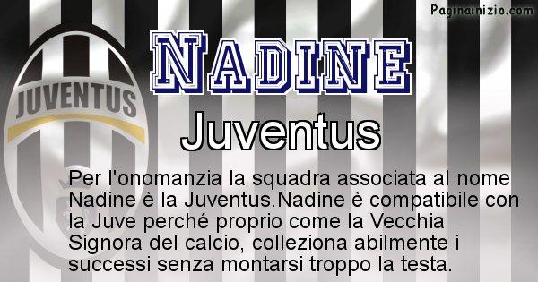 Nadine - Squadra associata al nome Nadine