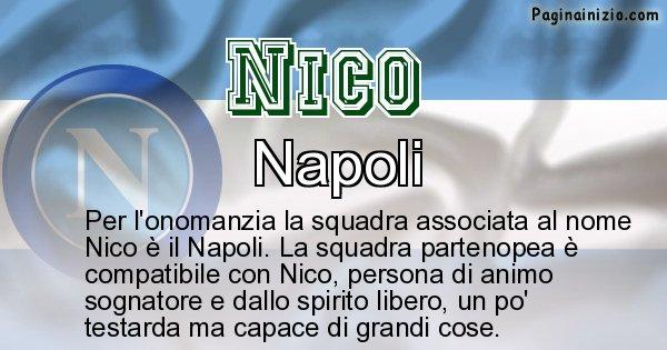 Nico - Squadra associata al nome Nico