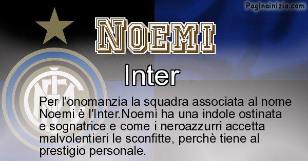 Noemi - Squadra associata al nome Noemi