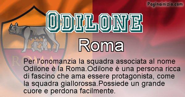 Odilone - Squadra associata al nome Odilone