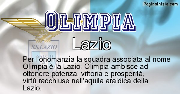 Olimpia - Squadra associata al nome Olimpia