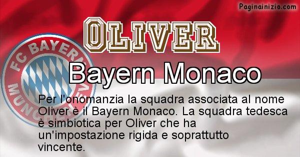 Oliver - Squadra associata al nome Oliver