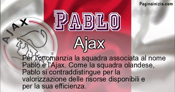 Pablo - Squadra associata al nome Pablo