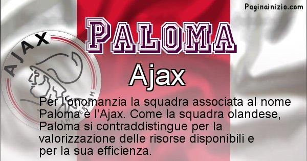 Paloma - Squadra associata al nome Paloma