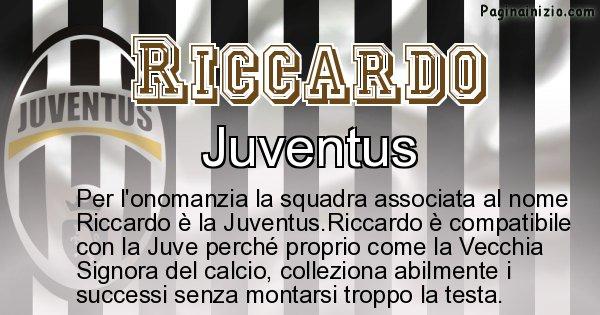 Riccardo - Squadra associata al nome Riccardo