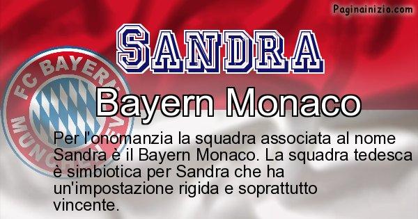 Sandra - Squadra associata al nome Sandra