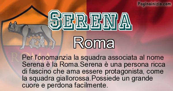 Serena - Squadra associata al nome Serena