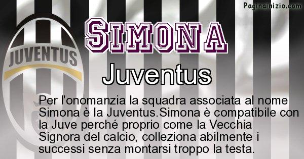 Simona - Squadra associata al nome Simona