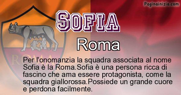 Sofia - Squadra associata al nome Sofia