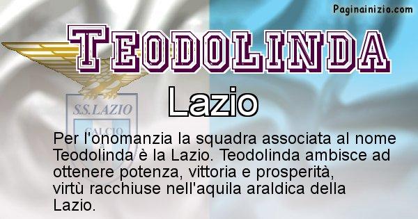 Teodolinda - Squadra associata al nome Teodolinda