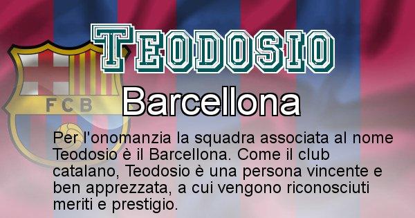 Teodosio - Squadra associata al nome Teodosio