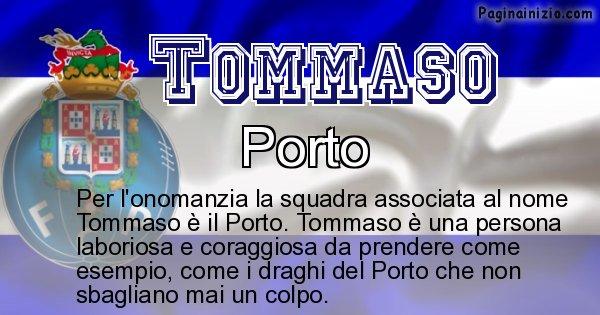 Tommaso - Squadra associata al nome Tommaso