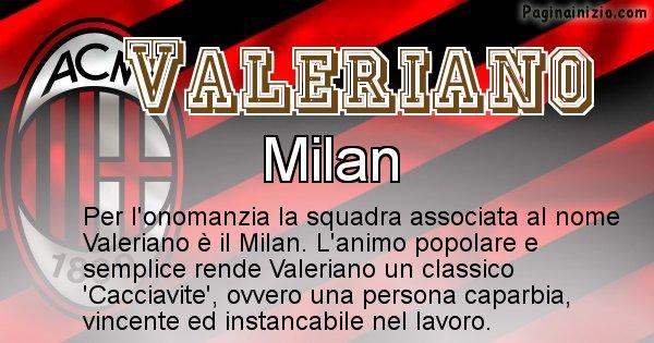 Valeriano - Squadra associata al nome Valeriano