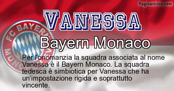 Vanessa - Squadra associata al nome Vanessa