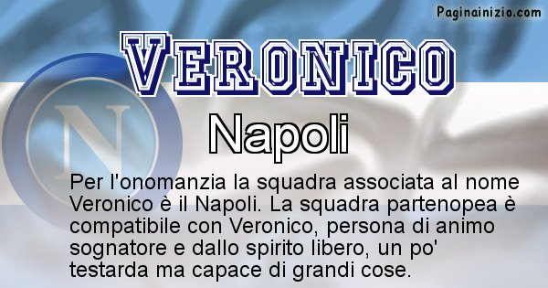 Veronico - Squadra associata al nome Veronico