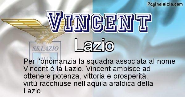 Vincent - Squadra associata al nome Vincent