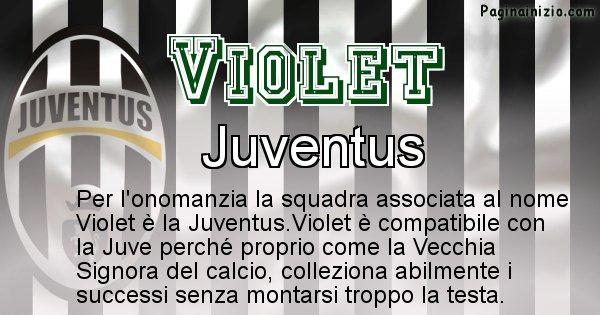Violet - Squadra associata al nome Violet