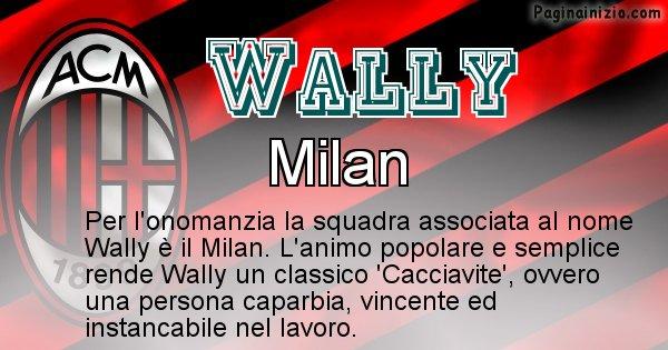 Wally - Squadra associata al nome Wally