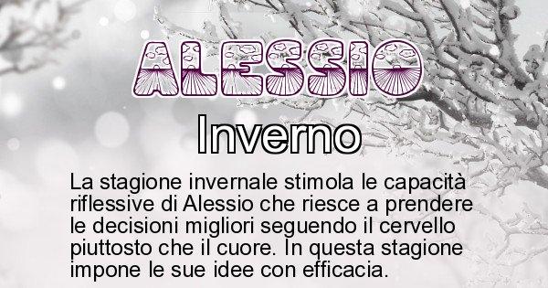 Alessio - Stagione associata al nome Alessio