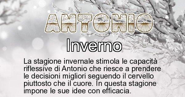 Antonio - Stagione associata al nome Antonio