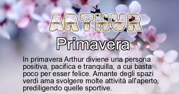 Arthur - Stagione associata al nome Arthur