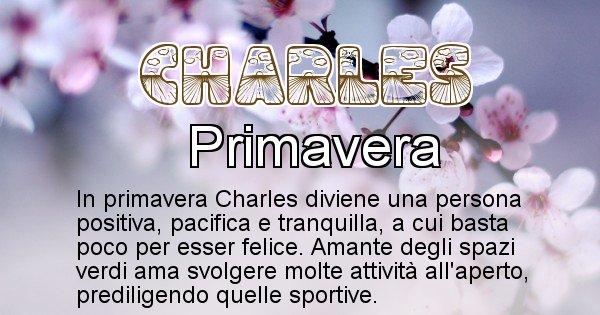 Charles - Stagione associata al nome Charles