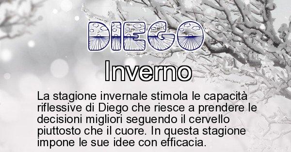 Diego - Stagione associata al nome Diego