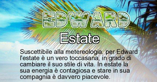 Edward - Stagione associata al nome Edward