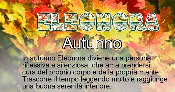 Eleonora - Stagione associata al nome Eleonora