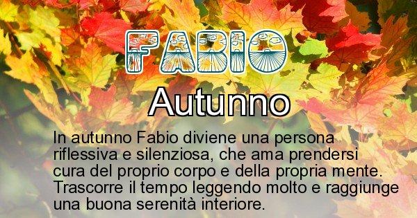 Fabio - Stagione associata al nome Fabio