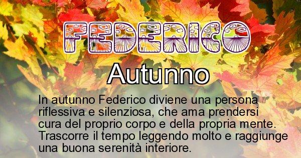 Federico - Stagione associata al nome Federico