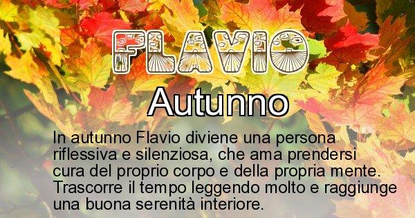 Flavio - Stagione associata al nome Flavio