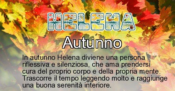 Helena - Stagione associata al nome Helena
