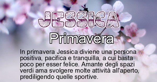 Jessica - Stagione associata al nome Jessica