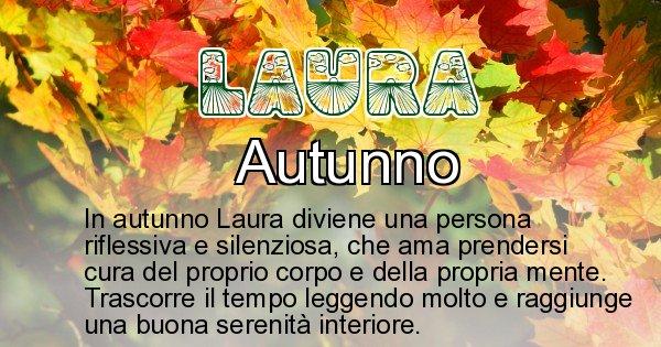 Laura - Stagione associata al nome Laura