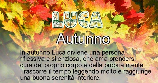 Luca - Stagione associata al nome Luca