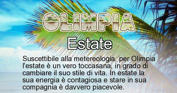 Olimpia - Stagione associata al nome Olimpia