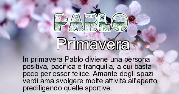 Pablo - Stagione associata al nome Pablo