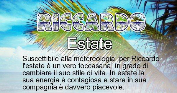 Riccardo - Stagione associata al nome Riccardo