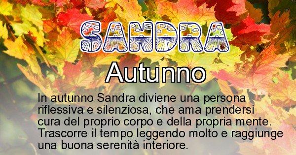 Sandra - Stagione associata al nome Sandra