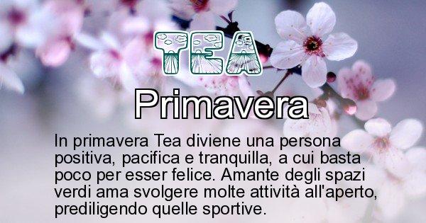 Tea - Stagione associata al nome Tea
