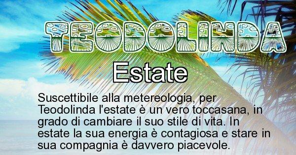 Teodolinda - Stagione associata al nome Teodolinda