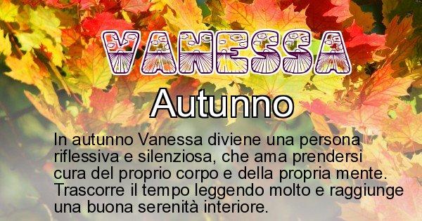 Vanessa - Stagione associata al nome Vanessa