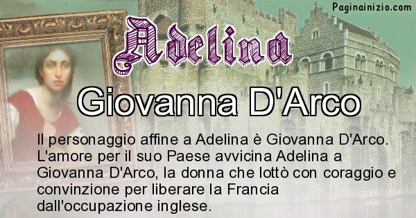 Adelina - Personaggio storico associato Adelina