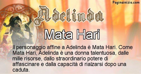 Adelinda - Personaggio storico associato Adelinda