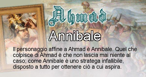 Ahmad - Personaggio storico associato Ahmad