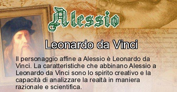 Alessio - Personaggio storico associato Alessio