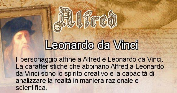 Alfred - Personaggio storico associato Alfred